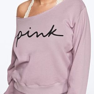 PINK V/S  EVERYDAY LOUNGE OPEN NECK CREW